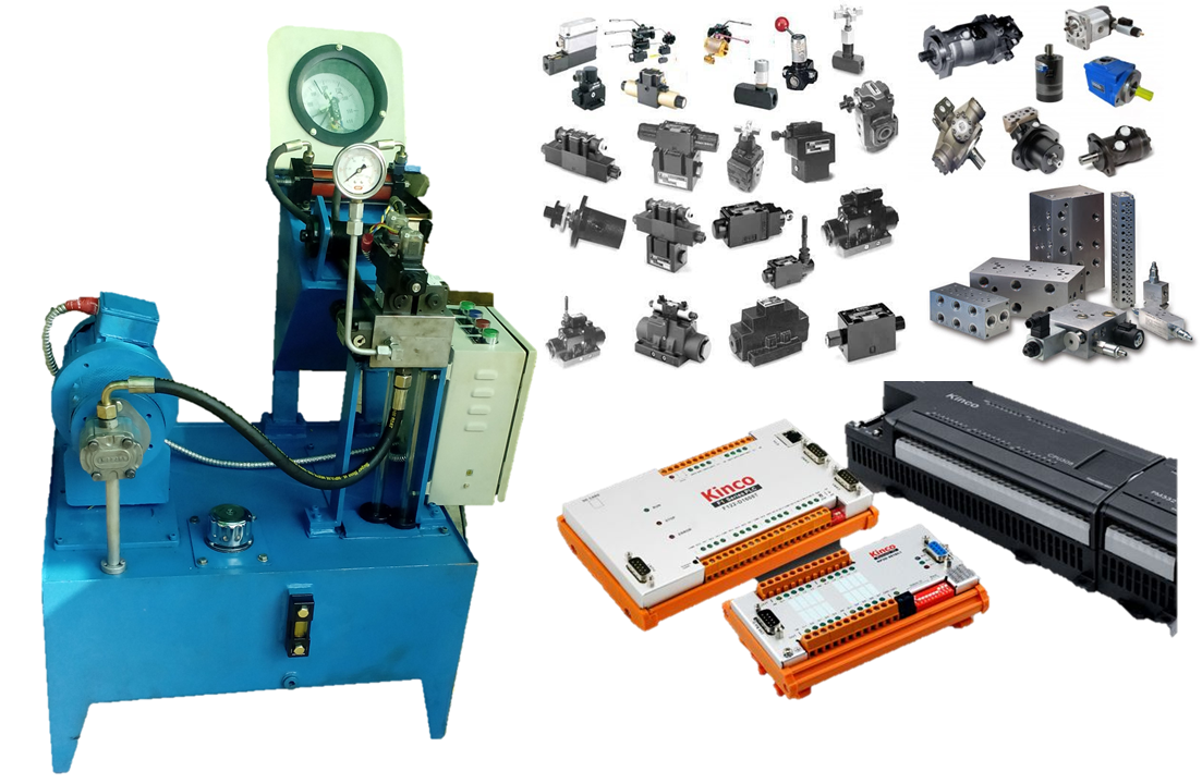 Hydraulic PLC trainer kit
