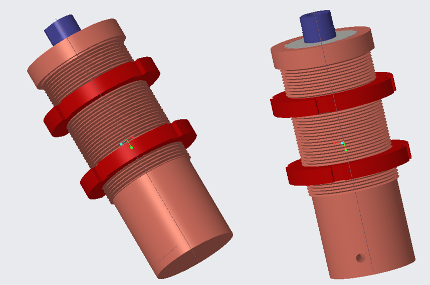 THREADED BODY CYLINDER